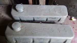 Big Block Chevy Valve Covers Bbc Heartbeat Billet 90s Vintage Ss 454