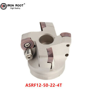 Asrf12 50 22 4t Cnc Fast forward Indexable Face Milling Cutter For Sdmt Insert
