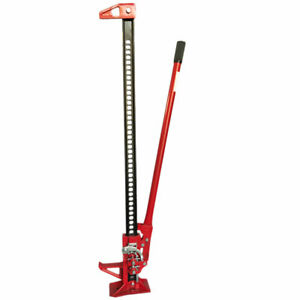 Auto Floor Jack 3 5 Ton Farm Vehicle Stand Equipment Tractor Truck Lift Tool Red