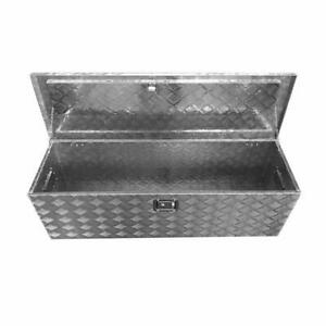 49 Aluminum Camper Tool Box Pickup Truck Bed Atv Trailer Storage Silver