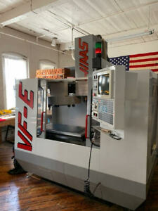 Haas Vf e Cnc Mill Center Never Used Only Has 100 Hours With Tooling