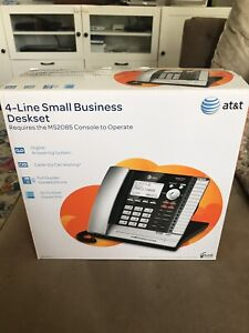 At t Ms2015 4 Line Small Business System Phone Open Box Unused