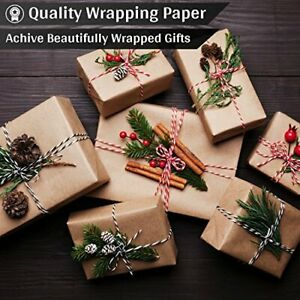Brown Kraft Paper Jumbo Roll Craft Papers For Gift Wrapping Arts Craft Packaging