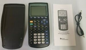 Texas Instruments Plus Graphing Calculator T1 83 With Instruction Book And Cable