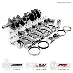 Fit Chevy Sbc 350 3 750 383 Ci 1pc seal Rotating Assembly Kit Sportsman