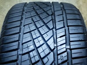 Continental Extremecontact Dws 06 245 40zr17 91w Used Tire 8 9 32 69034