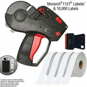 Monarch 1131 Price Labels Starter Kit Includes Pricing Gun 10 000 White Inker