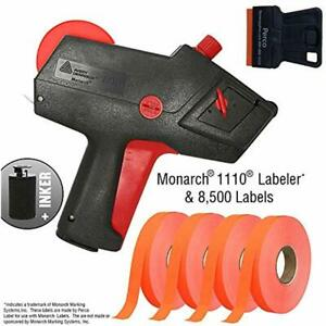 Monarch 1110 Pricing Labels Starter Kit Includes Price Gun 8 500 Fluorescent