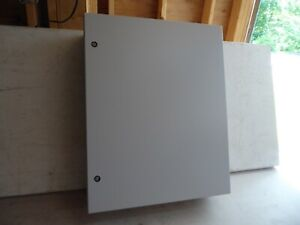 Hoffman Csd30248lg Industrial Electrical Control Panel Enclosure Box 30 x24 x8