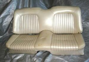 61 63 1961 1962 1963 Ford Thunderbird Convertible Rear Seat Very Nice