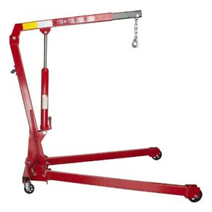 Folding Engine Crane Stand Hoist Lift Jack One Tonne 1t 1000kg Garage Masterpro