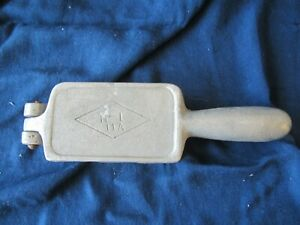 Vintage H-1 11A Lead Fishing Weight Sinker Mold Free Shipping
