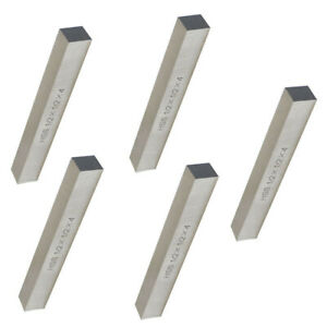 5 Pieces Lathe Tool Bit Steel Fly Cutter Milling Hss 1 2 X 1 2 X 4 Inch Square