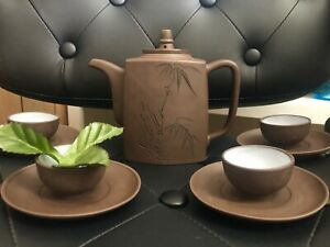 Handmade Yixing Zisha Purple Clay Teapot