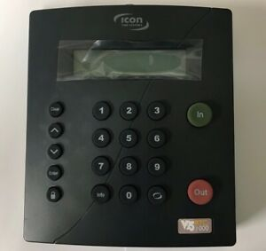 Icon Time Systems Rtc 1000 V 2 5 Time Clock Machine