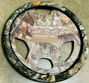 Realtree Edge Camo Steering Wheel Cover New
