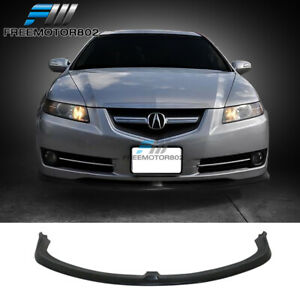 Fits 07 08 Acura Tl Cs Style Front Lip Spoiler Unpainted Pu Poly Urethane