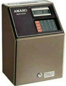 Amano Automatic Time Clock Mjr8000