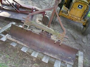Vintage Blackhawk Arps 6 Tractor Blade adj Rear Mount 3 Point Cat 1