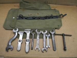 Pierce Arrow Tool Kit Factory Original Tools With Repro Canvass Roll