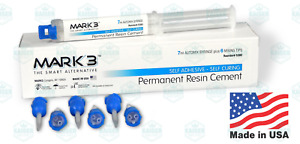 Permanent Resin Cement 7 Ml Automix Syringe With 6 Tips Mark3 5380