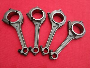 Rare Complete Matched Set Of Four 3 main Bearing Mgb Engine Connecting Rods Mgb