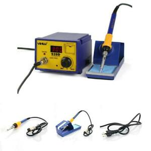 Yihua 939d 60w Constant Temperature Soldering Station Iron Welding Tool Kit 110v