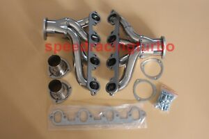 Stainless Shorty Hugger Header Exhaust Manifold For 429 460 Ford Bbc Big Block