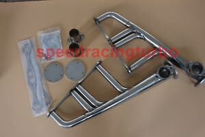 Exhaust Headers For Sbc 265 400 V 8 Chevyhot Rod Street Rat Stainless Lake Style