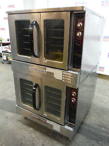 Southbend Gb 25sc Gas Double Stack Full Size Convection Oven