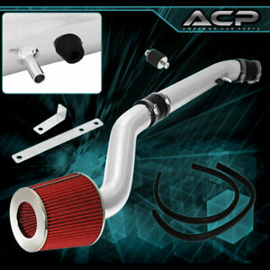 Chrome Cold Air Intake Kit Filter For 96 97 98 99 00 Honda Civic Ex Si Jdm