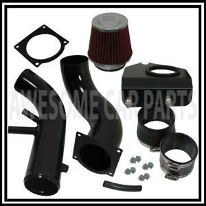 Black Cold Air Intake Cai Induction Performance System For 96 04 Mustang V8 4 6l
