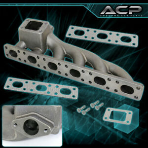 M50 M52 Cast Iron T3 T4 Performance Exhaust Turbo Manifold For Bmw E36 E46