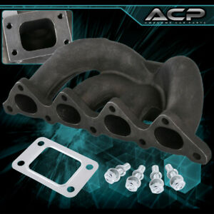 Cast Iron Turbo Exhaust Manifold Fits 89 99 Eclipse Evo 1 2 3 Talon 4g63 Dsm