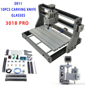 2 in 1 Cnc3018 Diy Router Laser Engraving Machine W Er11 Collet F Win 7 xp 8 10