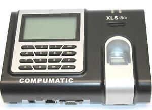 Compumatic Xls Bio Fingerprint Recognition Biometric For Office Entry Time Clock