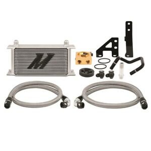 Mishimoto Silver Thermostatic Oil Cooler Kit For 2015 2019 Subaru Wrx Only