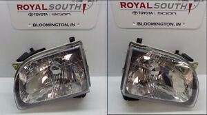Toyota Tacoma 2001 2004 Left Right Front Headlight Assemblies Genuine Oem Oe