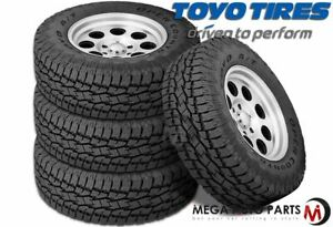 4 Toyo Open Country A t Ii Lt265 70r17 10 Owl 121s All Terrain On Off Road Tires