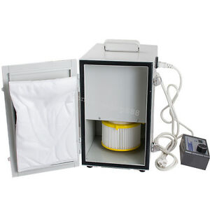 Dental Digital Double Impeller Dust Collector Room Vacuum Cleaner Y Type Suction
