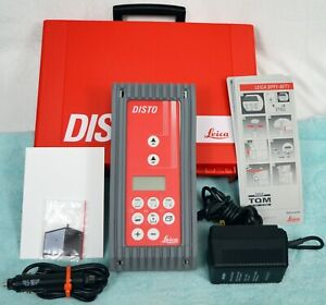 Leica Disto 563755 Laser Distance Measuring Tool With Case manual ac dc Cords