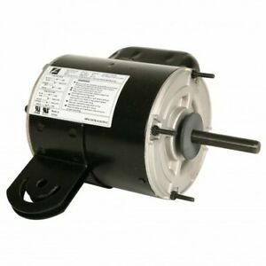 1 2 Hp Electric Motor 1 Phase With Yoke Mount 115 230 V New Old Stock