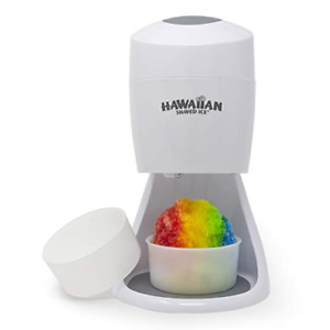 Electric Shaved Ice Machine Hawaiian Shaved Ice Snow Cone Shaver Icee White New
