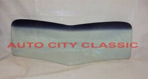 V Bend Windshield Glass 1937 1938 1939 Ford Pickup Truck Green Shade Band