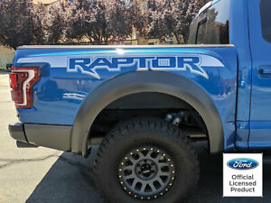 2017 2019 Ford Raptor Factory Style Bed Graphics Vinyl Decals Stickers Set 2018