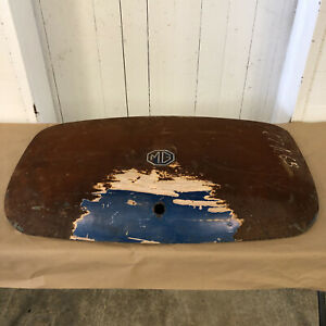 Original Mg Mgb Boot Trunk Lid Oem
