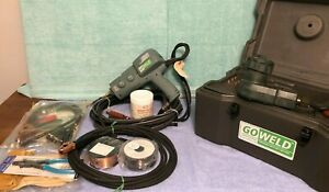 lotb Never Used Broco Goweld Portable Battery Mig Welder