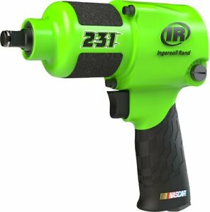 Brand New Ingersoll Rand 231r g 1 2 Green Nascar Impact Wrench