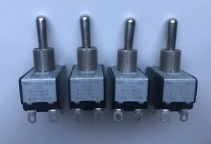 Lot 4 Ch 3 position Toggle Switches 10a 3 4 Hp 250v Ac 15a 125v Ac New