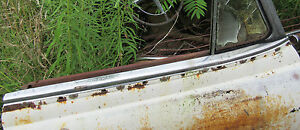 1954 Chevrolet Pontiac 2dr Ht Convertible Door Top Molding Rh